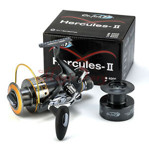 10+1BB Hercules-II Surf Spinning Fishing Reels Baitfeeder Casting Bass Offshore