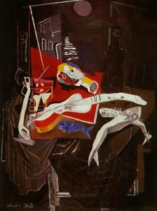 DALI Still Life By The Light of The Moon Tapestry
