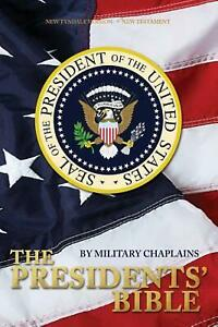 Presidents' Bible by Military Chaplains Paperback Book Free Shipping!
