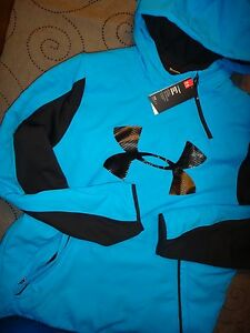 UNDER ARMOUR  COLD GEAR HOODIE SIZE XL L MEN NWT $200.00