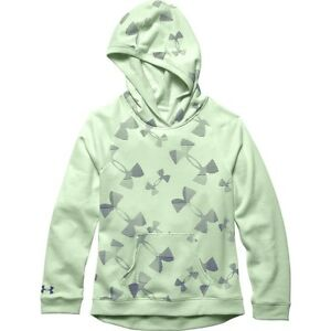 NWT UNDER ARMOUR GIRL'S KALEIDOSCOPE LOGO HOODIE SZ M