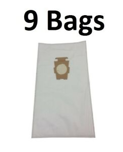 9 F Style Microfiltration Cloth Hepa Vacuum Bags for Kirby Sentria I amp; II G10D