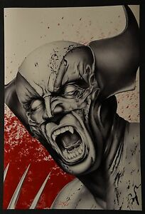 Wolverine Art Print Signed by Don Monroe $39.99