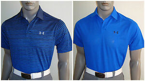 2017 Jordan Spieth Under Armour Masters Scripting Polo Golf Shirts (SATSUN)