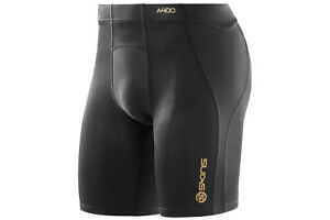 Skins Mens A400 Compression Power Shorts Pants Sports Training