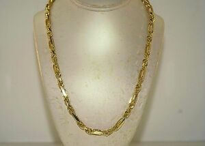 6MM YELLOW GOLD PLATED 925 STERLING SILVER ITALIAN MILANO ROPE CHAIN NECKLACE