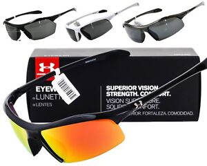 NEW UNDER ARMOUR ZONE  ZONE XL SUNGLASSES Black frame  Grey lens AUTHENTIC