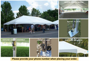 40' x 80' Master Series Frame Tent Wedding Party Marquee