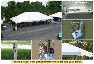 40' x 100' Master Series Frame Tent Wedding Outdoor Party Marquee