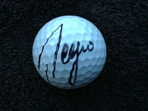*SERGIO GARCIA*SIGNED*AUTOGRAPHED*GOLF BALL*GAME USED*TITLEIST PROV1X *COA*
