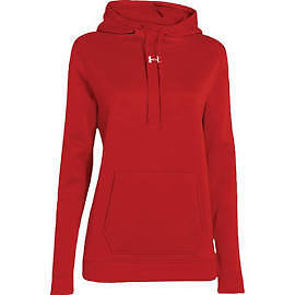 Under Armour 1258826-600 Storm Armour Fleece Hoodie - Women's - Red - XX-Large