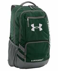 Under Armour UA Storm Hustle Backpack Forest GreenGraphite Shop New