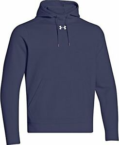Under Armour Men's Storm Armour Fleece Hoodie Midnight Navy Large Mens Golf Shir