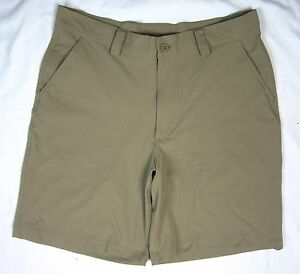 """UNDER ARMOUR * Size 34 * 10"""" Golf or Casual Stretch Shorts"""