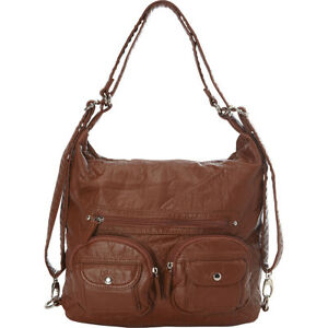Ampere Creations Convertible Backpack Crossbody Purse Cross-Body Bag NEW