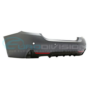 M Performance Style Rear Single Outlet Bumper for F32  F33 420i 428i 430i