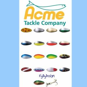 ACME LITTLE CLEO Fishing Spoon Choose Lure Color Weight amp; Quantity