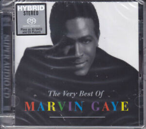 Marvin Gaye - Very Best Of Marvin Gaye [New SACD] Hybrid SACD Hong Kong - Impor