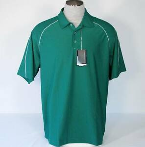 Nike Golf Fit Dry Stretch Green Polo Shirt Mens Extra Large XL NWT