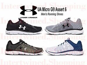 Under Armour Men's UA 1266224  Micro G® Assert 6 EVA Running Shoes All Size 7-16
