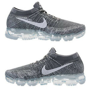 NIKE AIR VAPORMAX FLYKNIT DAY TO NIGHT COLLECTION MEN'S RUNNING GREY - PLATINUM