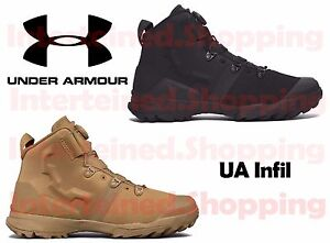 Under Armour 1287350 Men's UA Infil Lightweight Tactical Boots Sizes 8-14