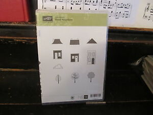 Stampin' Up Good Neighbors set with case EXCELLENT CONDITION