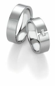 Wedding Rings Breuning Platinum Design Collection 90609061 in Platinum 950