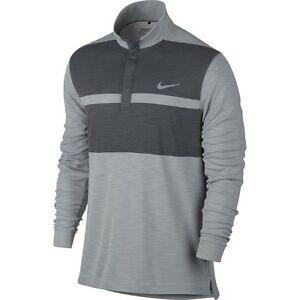 MEN'S NIKE GOLF TR DRY STANDARD FIT LONG SLEEVE GOLF POLO 744888 012 SIZE XL