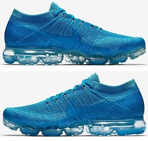 NIKE AIR VAPORMAX FLYKNIT DAY TO NIGHT COLLECTION MEN'S RUNNING GLACIER BLUE NEW