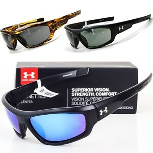 NEW UNDER ARMOUR POWER SUNGLASSES Choose Black  Tortoise  Polarized UA 8600026