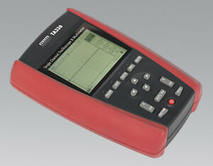 Sealey TA330 Hand-Held Single Channel Oscilloscope & Multimeter