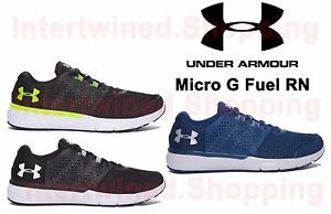 Under Armour 1285670 Mens Micro G Fuel Run Athletic Running Shoes All Sizes 7-16