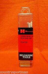 HORNADY Reloading Tools 10mm-3840 Winchester (.400) Seating Die Item #044146