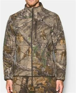 Men's Under Armour Stealth Reaper Extreme Wool Jacket Camo 1299282-946