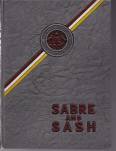 1943 PENNSYLVANIA MILITARY COLLEGE YEARBOOK SABRE amp; SASH CHESTER PA $44.99