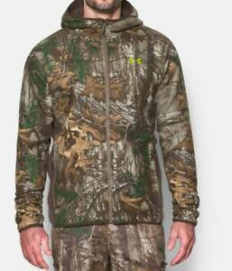 Under Armour Men's Stealth Hooded Jacket 1283119-947 Realtree Xtra