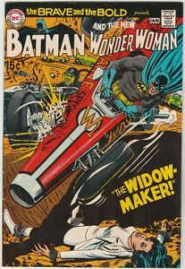 Brave and the Bold #87 The Batman Wonder Woman strict NM- 9.2 High-Grade I Ching