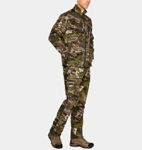 Under Armour UA Mid Season Wool Hunting Pants 1297442-943 Reaper Forest Camo