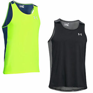 Under Armour CoolSwitch Run 1271843 men's running shirt Tank-Top Jog Sport New