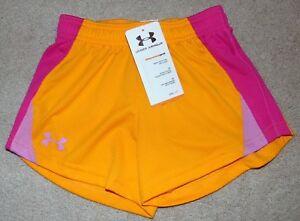 ~NWT Girls UNDER ARMOUR Shorts! Size YXS Loose Fit Cute FS:)~