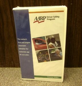 AARP older adults Driver Safety Program VHS auto education Retired Persons 2002