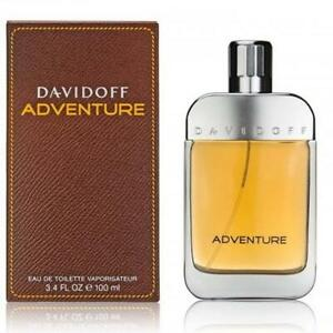 Adventure by Davidoff cologne for men 3.3 3.4 oz EDT New in Box