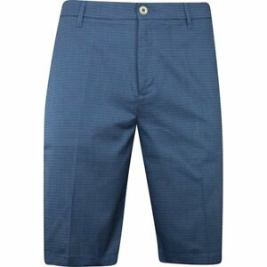 Ashworth Mini Check Shale Shorts Men