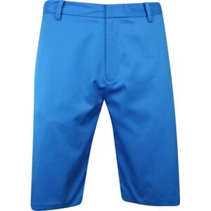 Ashworth Synthetic Stretch Dark Marquis Blue Shorts Men