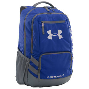 Under Armour Team Hustle Backpack 7 Colors School & Day Hiking Backpack NEW