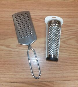 Unbranded / Generic Medium Sized Stainless Steel Cheese Graters Of Choice *READ*