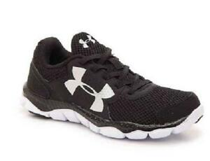 Boy's Youth UNDER ARMOUR ENGAGE 3 Black Athletic Shoes 1301859 NEW