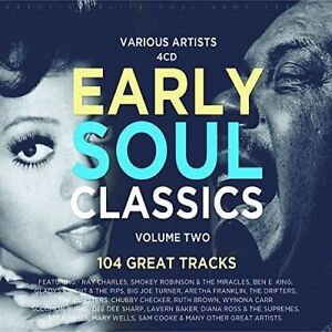 Various Artists - Early Soul Classics Vol 2 / Various [New CD] UK - Import