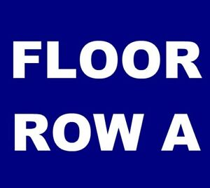 Bonnie Raitt tickets Redding Civic Auditorium 317 *** FLOOR 3 ROW A! ***